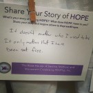 #spreadhope Share you story and inspire others.
