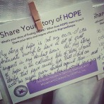 #spreadhope. So inspired by all amazing, strong and honest people we met today.